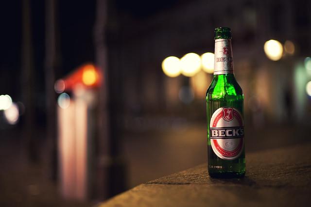 Bokehlicious Beck's Beer!