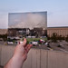 Looking Into the Past: Pentagon From a Distance, September 11, 2001 by jasonepowell