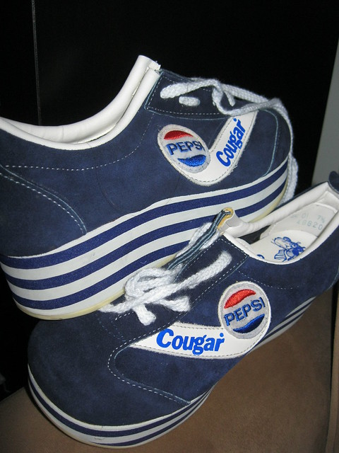 Pepsi Platform Running Shoes