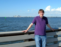Tampa - Ballast Point Park - Me On Fishing Pier