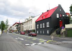 Reykjavik streetscape