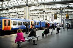 Waterloo Platform 15 (abondoned wellies)