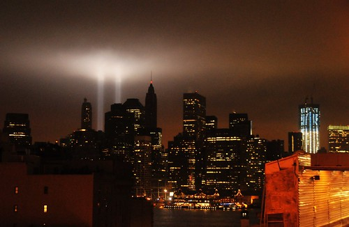 Tribute in Light 9/11/2011