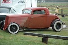 automobile, automotive exterior, vehicle, hot rod, antique car, sedan, ford model b, model 18, & model 40, vintage car, land vehicle, luxury vehicle, motor vehicle,