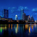 (Very) Blue Hour, Austin Skyline by Michael Tuuk