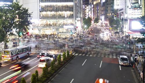 Blurred, Shibuya, Tokyo