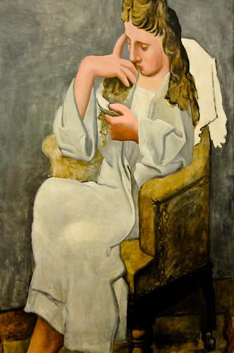 Pablo Picasso - La liseuse, 1920 at Centre Pompidou Paris France