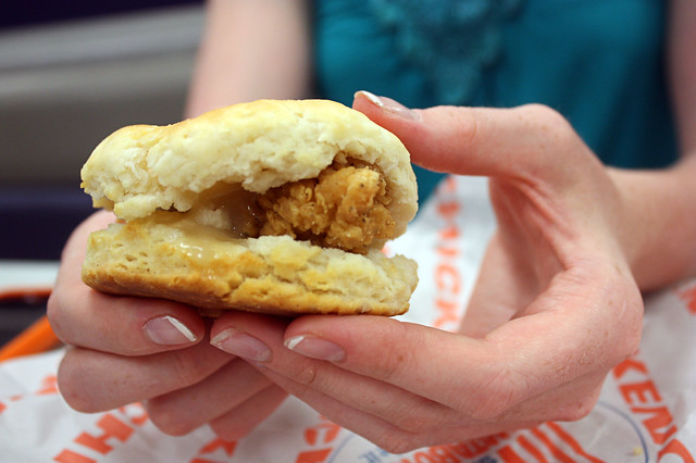 honey butter chicken biscuit. | Flickr - Photo Sharing!