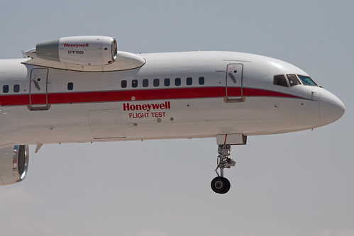 Boeing 757-225 N757HW, Honeywell Flight Test