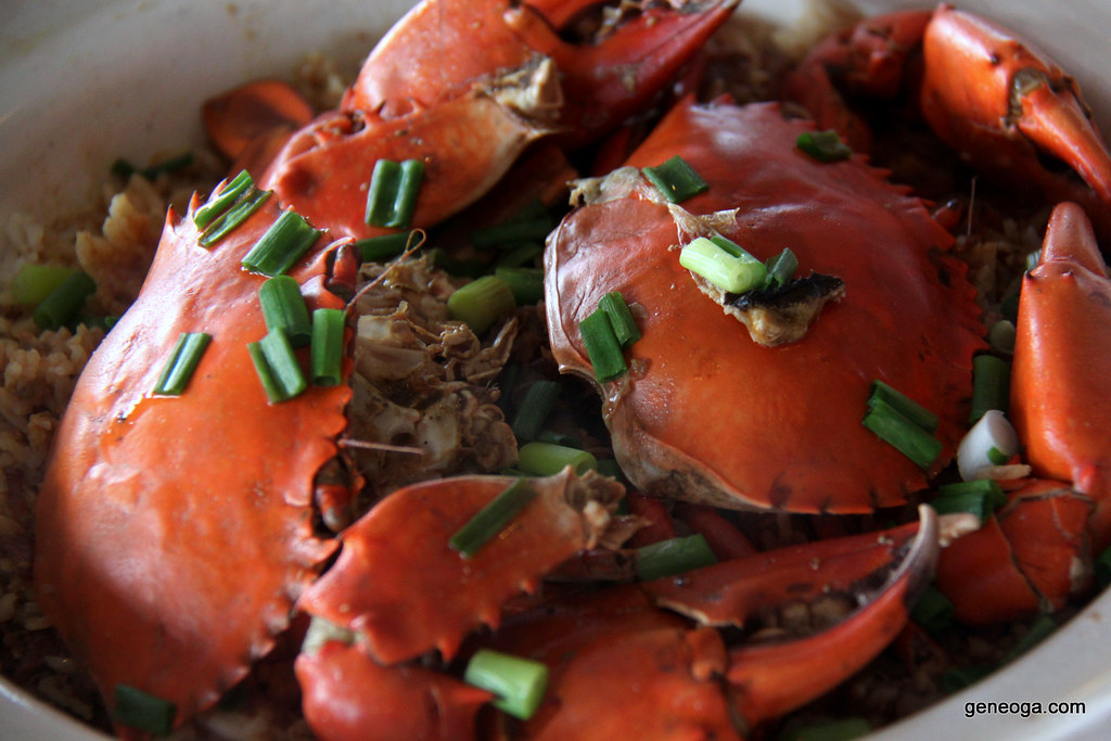Claypot Crab Rice