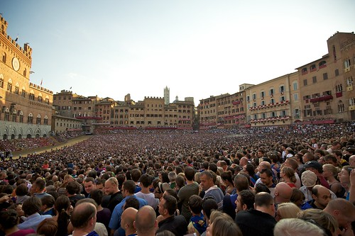 Palio di Siena - Assunta 2011 - Piazza del Campo