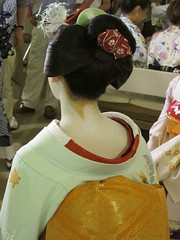 Geisha, Ichino, in Kyoto, Japan: 舞妓、市乃、京都