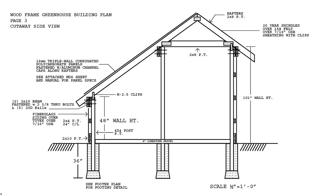 48x12 39 Passive Solar Greenhouse Plans Flickr Photo