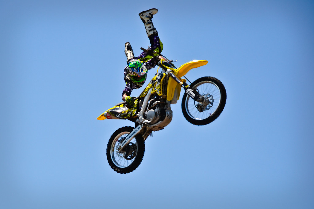 Motocross dirt jumps