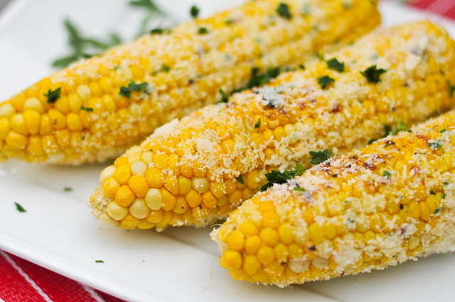 Parmesan Garlic Grilled Corn Recipes — Dishmaps