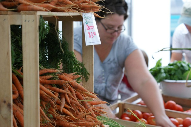 2011 07 16 Farmers Market from Flickr via Wylio
