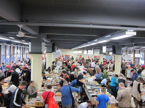 The Save the Children booksale at UWA