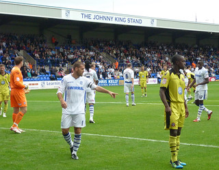 Tranmere Rovers v Sheffield United, Prenton Park 20 August 2011