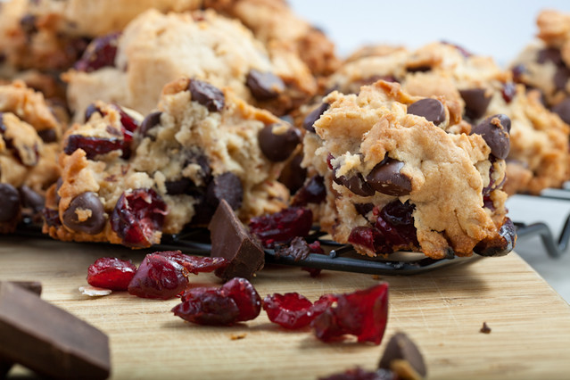 Dark Chocolate Oatmeal Cranberry Cookies | Flickr - Photo Sharing!