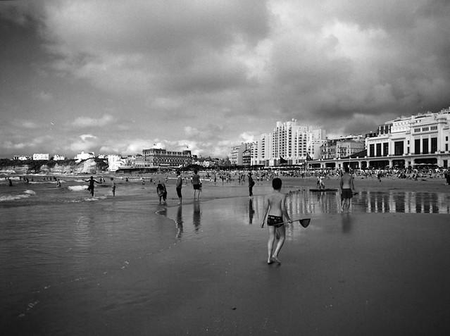 beach & humans