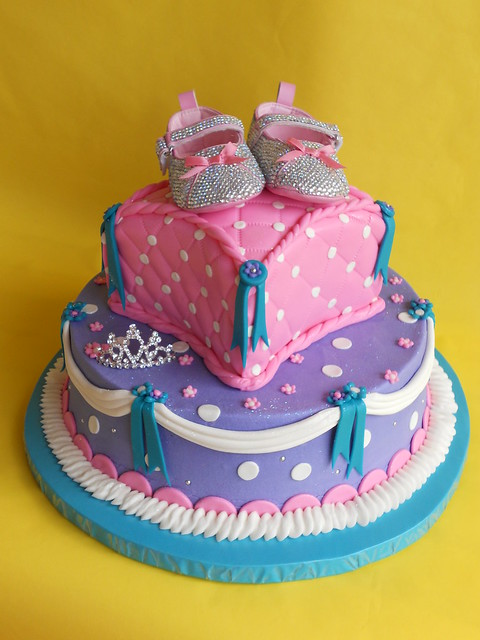 pretty little princess baby shower cake flickr photo sharing