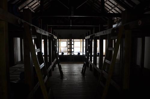 向陽山屋內部