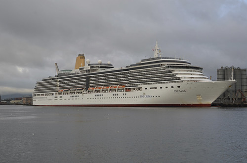 Arcadia Cruise Ship In Belfast 27th August 2011 9 by alan06