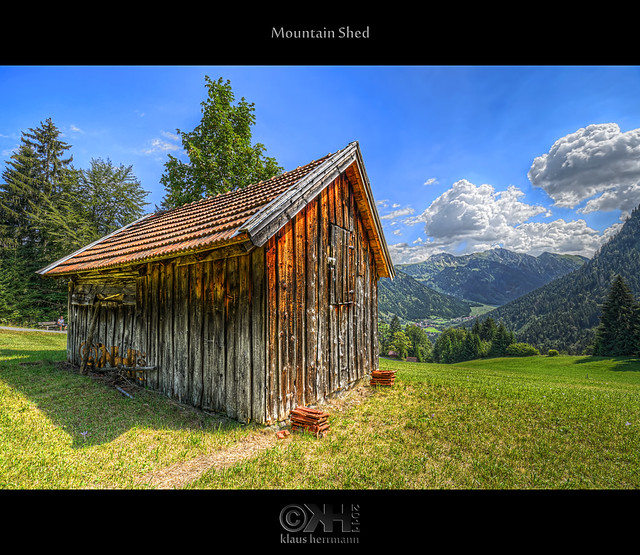 Mountain Shed (HDR) - Source Photos Available!!!