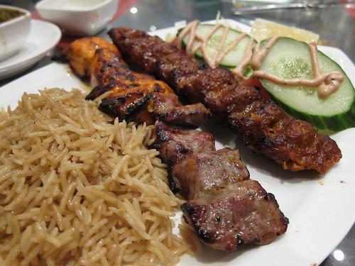 A rather unusual chinaman ariana ii what is afghan food for Ariana afghan cuisine menu