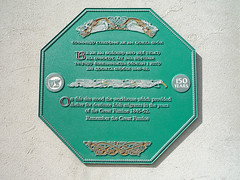 Photo of Green plaque № 7926