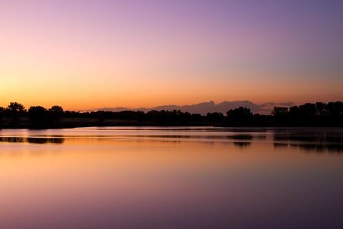 morning lake sunrise reflections landscape dawn colorado rockymountainarsenal