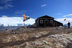 Museum at Chile's González Videla Station in Antarctica