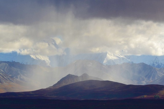 Denali Rainshower - Alaska -  Mountains