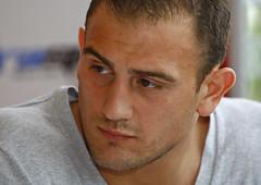 Francesco Pianeta am 6. Dezember gegen Ivica Bacurin