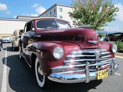 automobile, automotive exterior, vehicle, mid-size car, plymouth deluxe, antique car, vintage car, land vehicle, luxury vehicle, motor vehicle,
