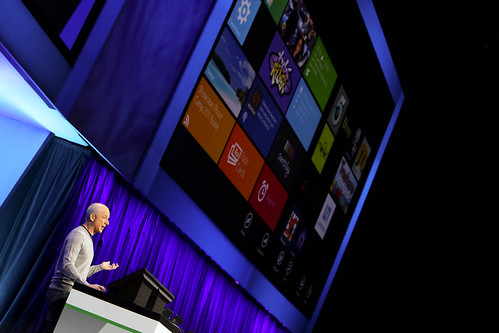 Steven Sinofsky showcases Windows 8 at BUILD on Tuesday, September 13, 2011