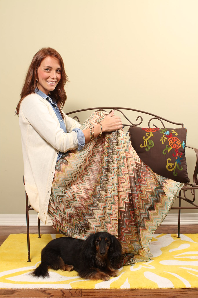Stephanie Bowering and Daisy, Jackson Free Press Fall Fashion issue