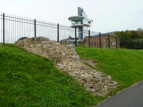 The mobile Branch Wall from the slipway