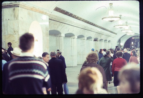 Moscow Subway, 1969