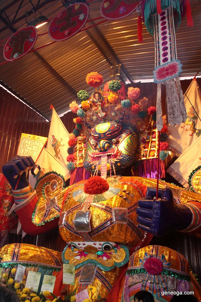 Tai Su Yah effigy