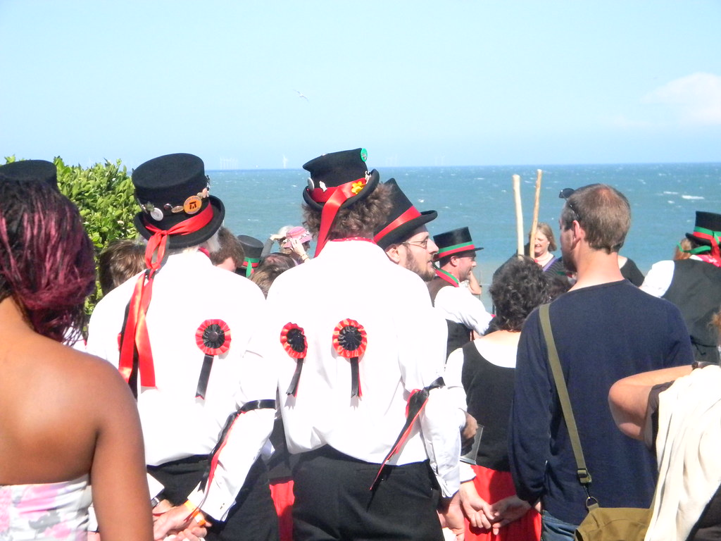 Morrismen Margate to Ramsgate (well Broadstairs anyway)