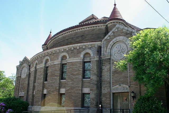 Romanesque Revival In Montclair : Christ Church
