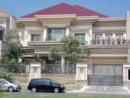 Pagar Rumah Mewah Modern Model
