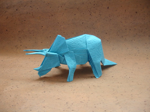 Etsy Account Oh and a Triceratops