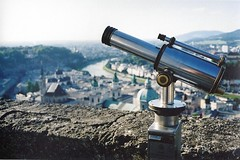 Telescope, Hohensalzburg Castle, Salzburg