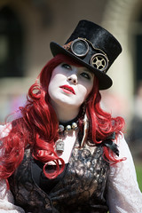 Castlefest 2011, Steampunk, Esther