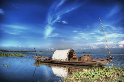 blue sky cloud color reflection nature water colors clouds river landscape boat asia pentax bangladesh riverscape greatphotographers narayanganj colorphotoaward k200d pentaxart barodi pipexcellence artistoftheyearlevel3 artistoftheyearlevel4