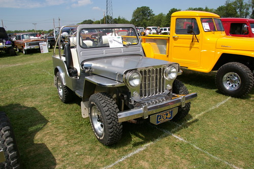 1946 Stainless Steel Willys CJ-2A