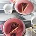 Meggyes-csokoládés fordított sütemény