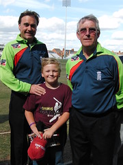 Northants Steelbacks v Surrey Lions, Clydesdale Bank 40 Cricket, Northampton County Ground.